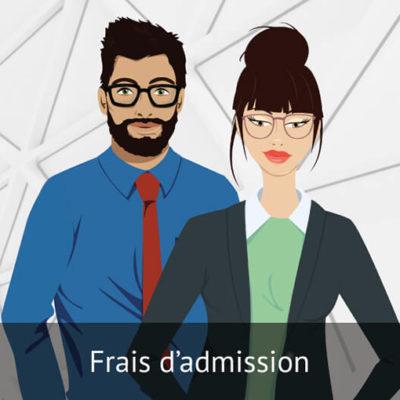 Frais d'admission DEC / AEC